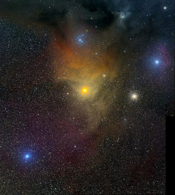 Photos: アンタレス付近の散光星雲
