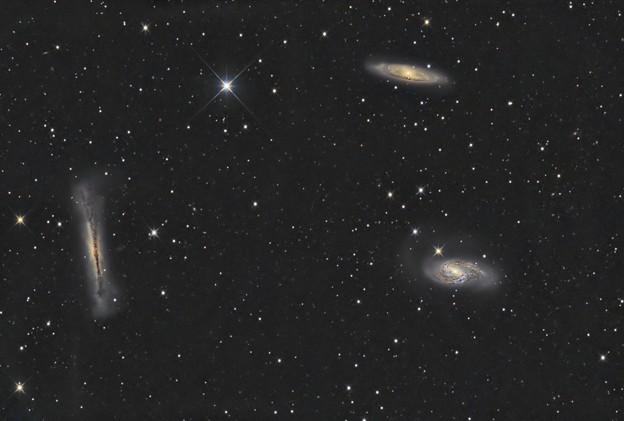しし座のトリオ銀河