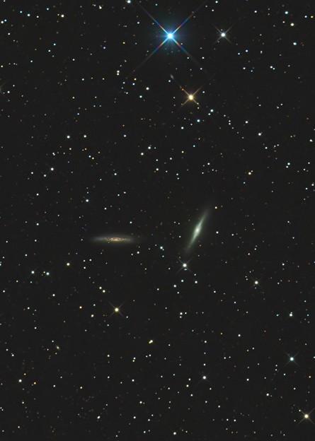 Photos: ペガサス座の銀河、NGC7332,NGC7339