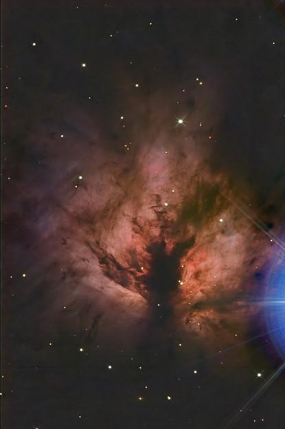 火炎星雲 NGC2024