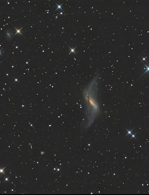 Photos: 極リング銀河NGC660