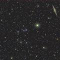 Photos: NGC891と周辺の銀河達