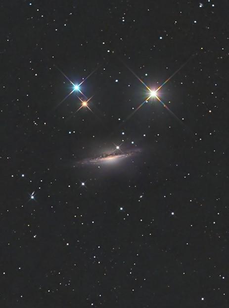 渦巻銀河NGC1055