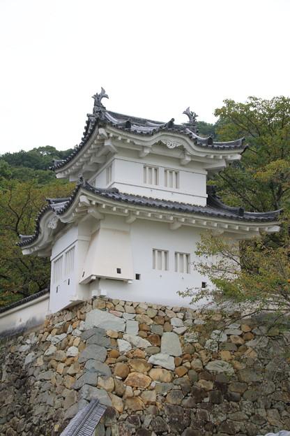 龍野城跡・隅櫓(4)
