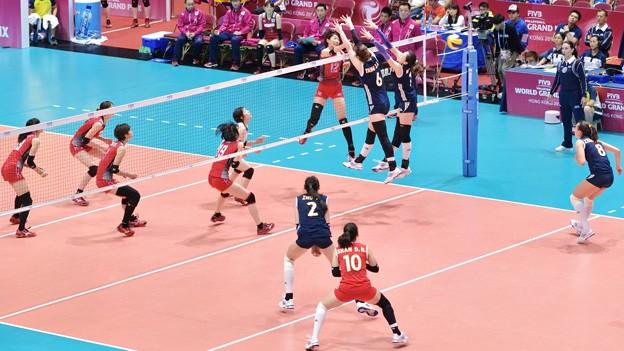 Photos: 日本vs中国