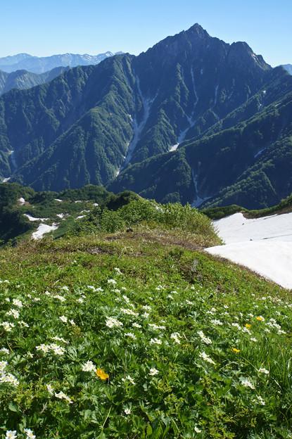 [2018年7月17日]剣岳(大日岳より)