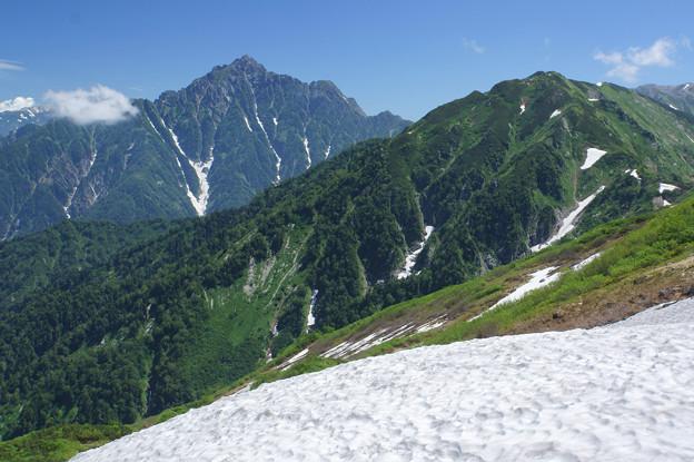 [2018年7月17日]剣岳(大日岳より)2