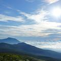 写真: [2018年08月12日]秋田駒ヶ岳から岩手山