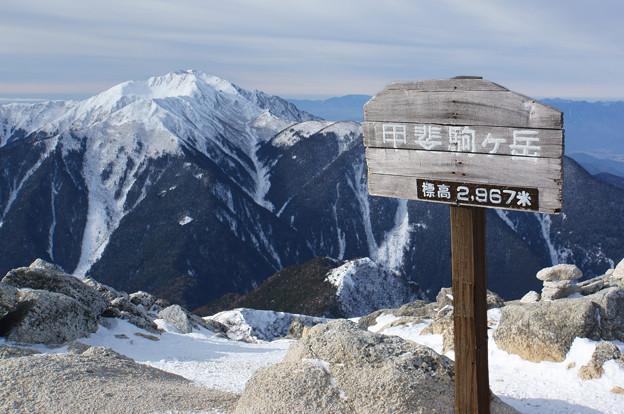 [2019年1月6日]甲斐駒ケ岳4