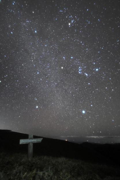 [2020年10月24日]冬の星座(剣山から)