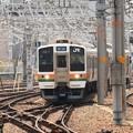 211系中央線快速名古屋到着