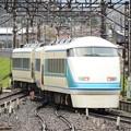 下今市から東武日光に向かうスペーシア「粋」編成回送列車