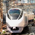 E257系特急ときわ65号東京7番発車
