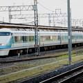 写真: 特急きぬ138号東武日光線栗橋通過