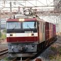 金太郎6号機牽引臨時貨物8063レ小山通過!