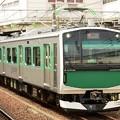 Photos: 烏山線ACCUMパンタ上げて宇都宮7番発車