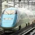 Photos: 「山形新幹線開業25周年記念号」雨の宇都宮通過!