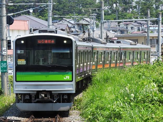 205系仙石線あおば通行き