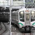 E721系常磐線原ノ町行き仙台入線