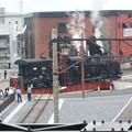 東武下今市駅の転車台広場
