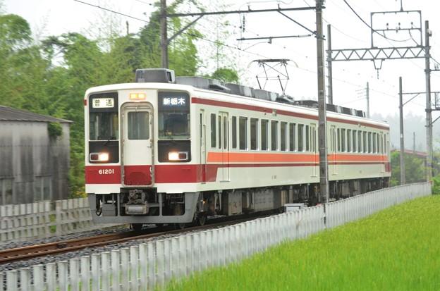 会津鉄道6050系200番台新栃木行き