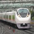 Photos: E657系特急ときわ76号柏入線