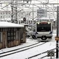 Photos: E531系雪の小山15番入線