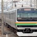 E231系湘南新宿ライン快速小金井3番入線