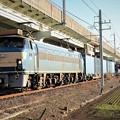 写真: EF66 30号機代走4093レ 宇都宮貨物(タ)到着