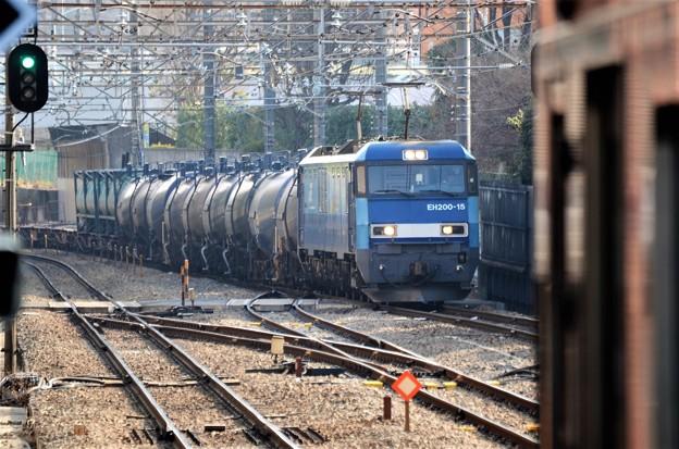 ブルサン15号機牽引5763レ武蔵野線205系被り