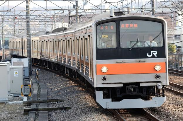 武蔵野線205系M29編成東京行き府中本町入線