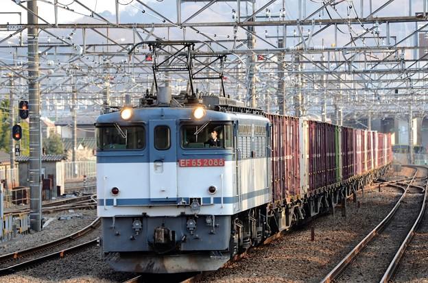 EF65 2088牽引77レ府中本町通過