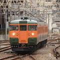 Photos: 高タカ115系定期最終536M高崎6番入線