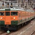 Photos: 高タカ115系定期最終536M終点高崎6番到着