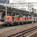 Photos: 名古屋駅を通過するDD51重連代走
