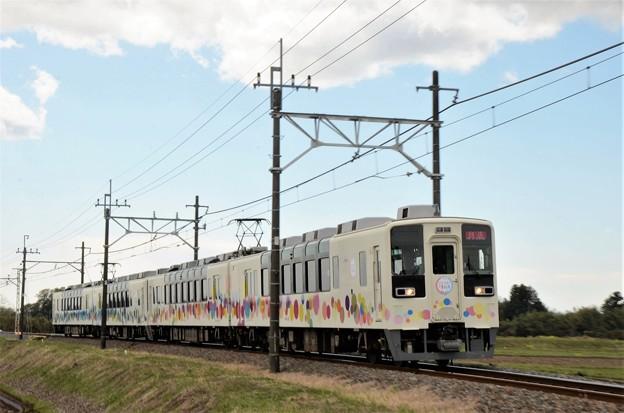 東武宇都宮線を行くスカイツリートレイン