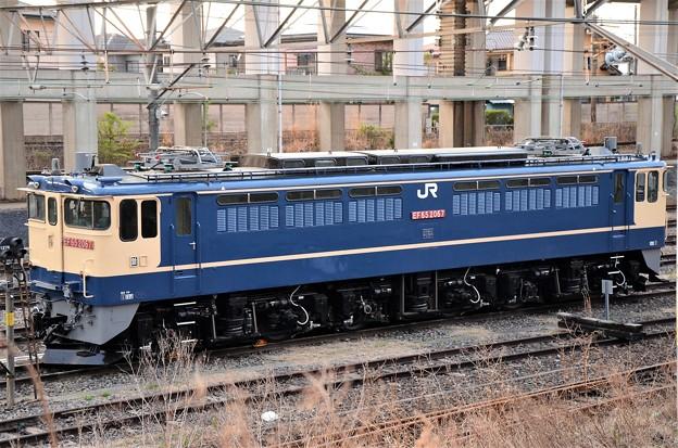 EF65 原色2067号機