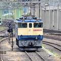 Photos: 宇都宮貨物(タ)機留線にEF65 2066原色機