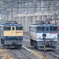 雨の宇都宮貨物ターミナル駅