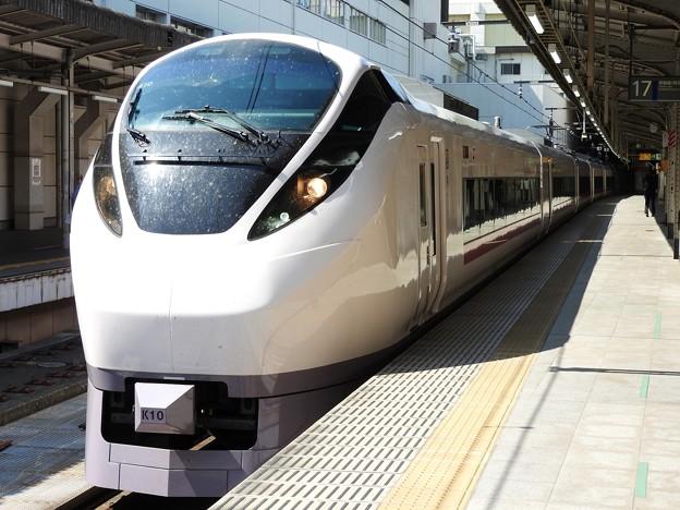 E657系特急ときわ55号勝田行き上野17番発車待機