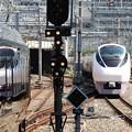 写真: E657系ときわ55号上野発車