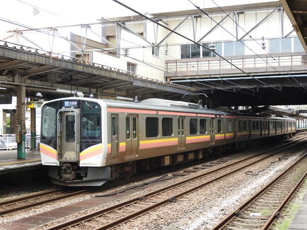 E129系新潟行き長岡発車