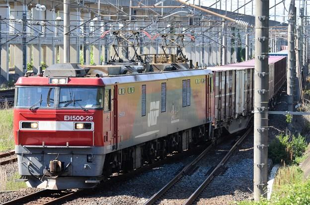 EH500-29牽引7086レ宇都宮貨物(タ)入線