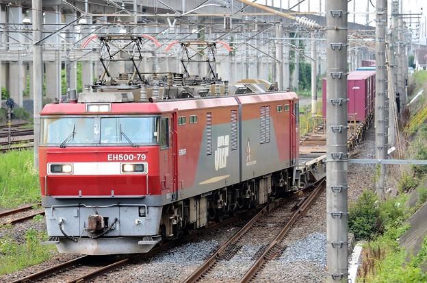 EH500-79牽引7086レ宇都宮貨物(タ)入線