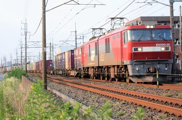 EH500-26牽引4088レ