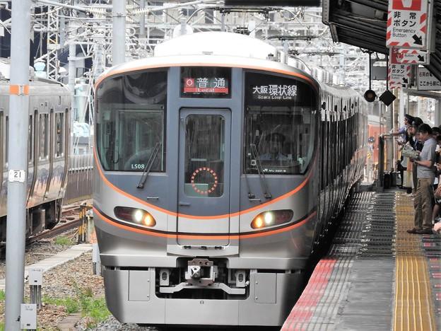 大阪環状線323系初撮影♪