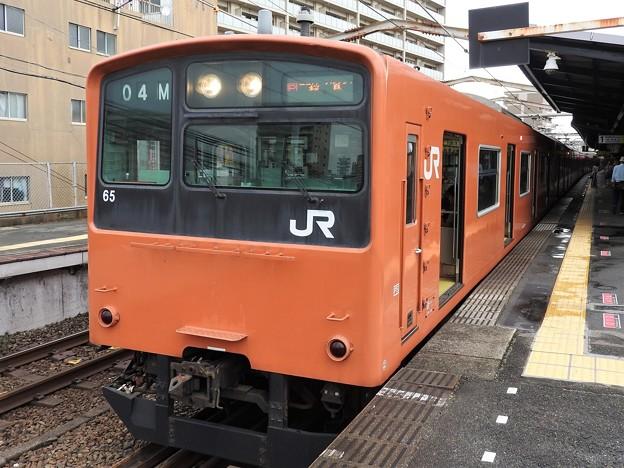 大阪環状線201系桜島線桜島行き