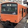 写真: 大阪環状線201系桜島線桜島行き