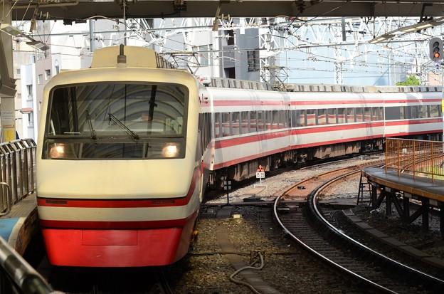 東武200系りょうもう号送込み回送浅草入線
