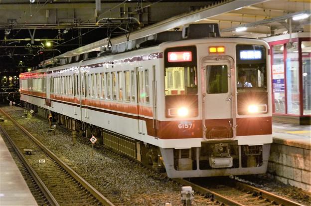 東武6050系臨時急行南栗橋行き